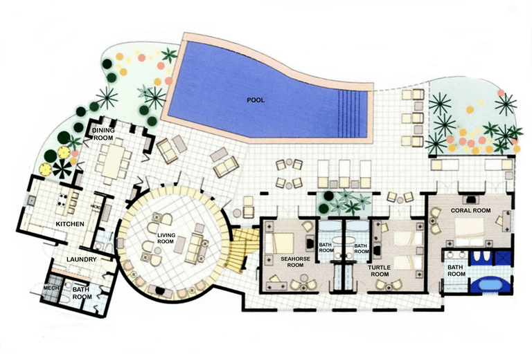 Villa Ground Floor Plan