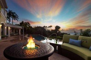 Sunset at Monkey Hill Luxury Villa