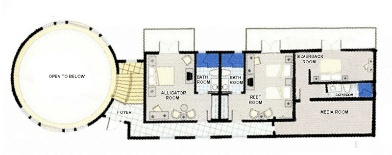 Villa First Floor Plan