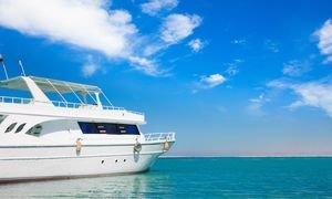 Yatch In Beautiful Red Sea